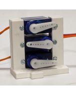 Model 2 -  servosteun voor maximaal drie mini servo's