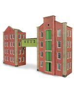 Bouwpakket HO/OO: Fabriek, pakhuis, magazijn - Metcalfe - PO282