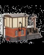 Bouwpakket HO: locomotieven service depot