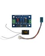 Zen Black decoder - 8 en 21 pin - met ABC module - DCC concepts