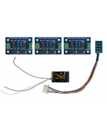 Zen Black decoder - 8 en 21 pin - met 3 ABC modules - DCC concepts