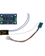 Zen Black kleine decoder - 8 pin met ABC module - DCC concepts