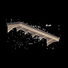 Bouwpakket N: Perron overkapping
