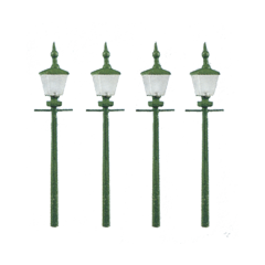 Bouwpakket N: Stations en straat lantaarns