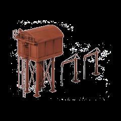 Bouwpakket N: Vierkante watertoren