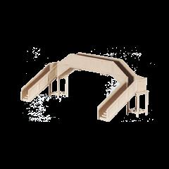 Bouwpakket N: Betonnen voetgangersbrug
