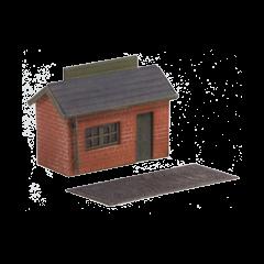 Bouwpakket N: Weegbrug met kantoor