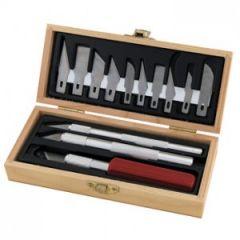 Hobby mesjes in houten doosje - ProEdge 30820