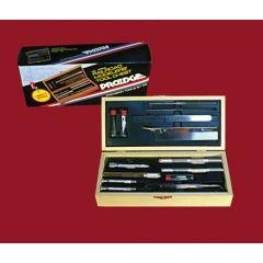 Luxe hobby mesjes set - voor modelspoor - in houten doos - ProEdge 30840