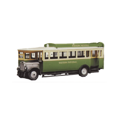 Bouwpakket HO : Maudslay ML 3 bus in Western National kleuren uit 1927