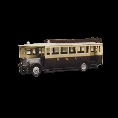 Bouwpakket HO : Maudslay ML 3 bus in GWR kleuren uit 1927