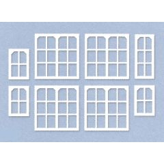 Set scenery materiaal: Midland seinhuis ramen