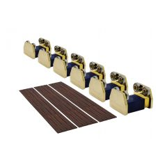 Rollenbank - rolling Road - schaal O - 6 assen - DCC concepts