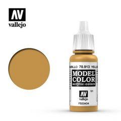 geel oker - Vallejo 70.913 - waterbasis acrylverf