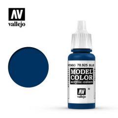 blauw - Vallejo 70.925 - waterbasis acrylverf