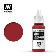 rood - Vallejo 70.926 - waterbasis acrylverf