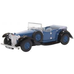 Modelauto Alvis Speed 20 - konings blauw - Oxford Diecast - schaal OO