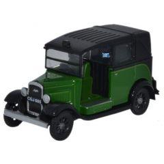 Austin Taxi - Westminster groen - Oxford Diecast - schaal OO