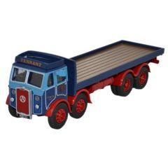 Atkinson 8 wiel vrachtauto met vlakke laadbak - Oxford Diecast - schaal OO
