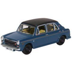 modelauto schaal 00 Austin 1300 - blauw - Oxford Diecast engelsmodelspoor.shop