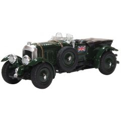 Bentley Blower convertible - Oxford Diecast - schaal OO