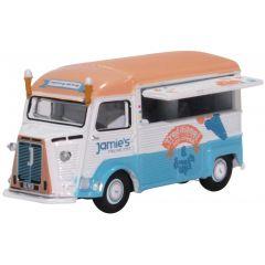 Citroen H ijscowagen - Oxford Diecast - schaal OO