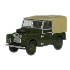 Land Rover 88 - Canvas - Oxford Diecast - schaal OO