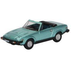 Triumph TR7 cabriolet - licht blauw - Oxford Diecast - schaal OO