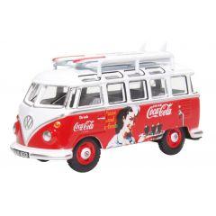 Volkswagen T1 - camper - coca cola - Oxford Diecast - schaal OO