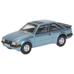 Ford Escort - Kaspisch Blauw - Oxford Diecast - schaal OO