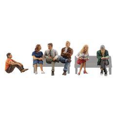Zittende mensen - Woodland scenics A2759 O figuren