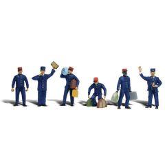 Trein personeel - Woodland scenics A2722 O figuren