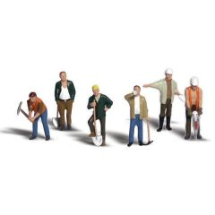 Wegwerkers - Woodland scenics A1850 HO figuren