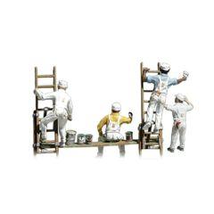 Schilders en ladders - Woodland scenics A1890 HO figuren