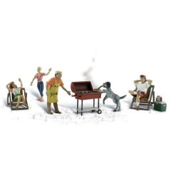 Barbeque - Woodland scenics A1929 HO figuren