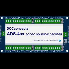Accessoire decoder voor wisselspoelen - 4 poorten - DCC concepts