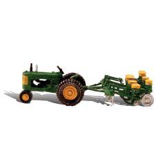Tractor met pootmachine - Woodland scenics AS5565