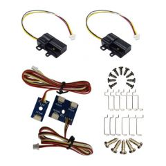 2x Cobalt-SS wisselmotoren zonder controller met toebehoren voor kruiswissel - DCC concepts - wisselmotor - wisselaandrijving