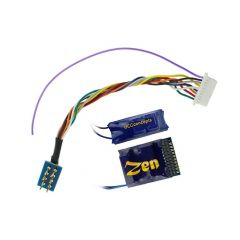 Zen 21 en 8 pin bedrade DCC decoder met buffer - DCC concepts