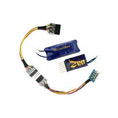 Zen 6  en 8 pin bedrade DCC decoder met buffer - DCC concepts
