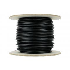 25 m zwart soepel installatiedraad 2.5mm - DCC concepts