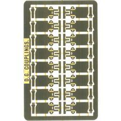 DG automatische koppelingen voor N modeltreinen