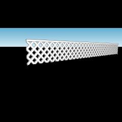 Modelbouw HO / OO diagonaal trellis hekwerk voor tuinen en erfafscheiding