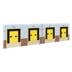 Bouwpakket HO: magazijn laaddeuren voor SSM300