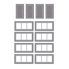Bouwpakket HO: extra deuren en ramen voor SSM300