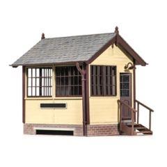 Bouwpakket O: houten seinhuis