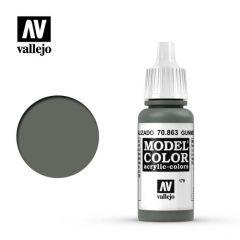 gunmetal grijs - Vallejo 70.863 - waterbasis acrylverf