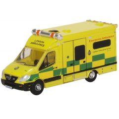 Mercedes Benz Sprinter - London Ambulance - Oxford Diecast - schaal N