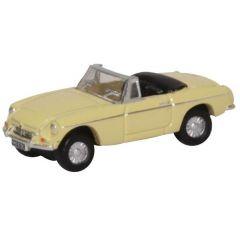 MG B Roadster - Oxford Diecast - schaal N