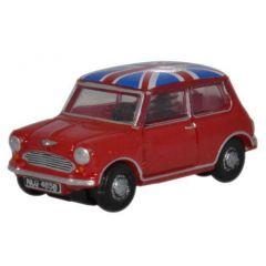 Mini Cooper - Union Jack - Oxford Diecast - schaal N